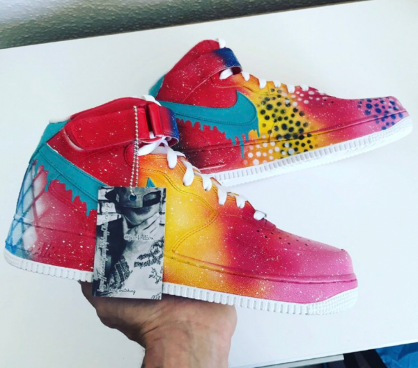 Air Force 1 new rainbow drips