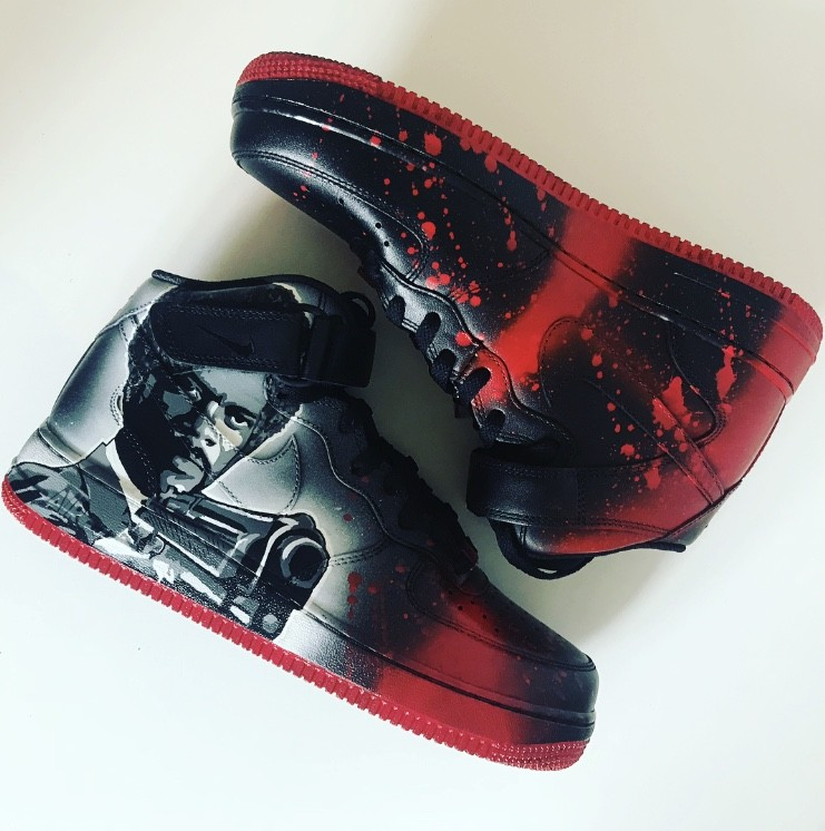 "Air Force 1 ""pulp fiction theme"""