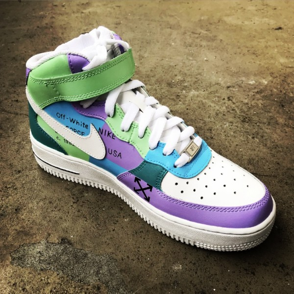 "Air Force 1 ""Easter & Off-White"""